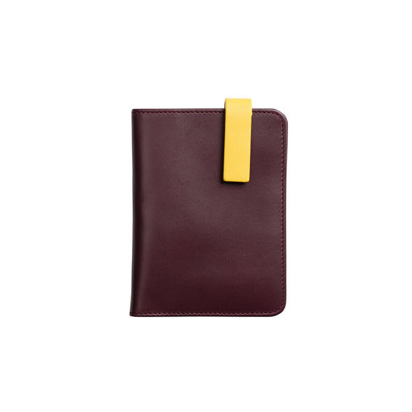 Willy Burgundy | Wallets UK | La Portegna UK | Handmade Leather Goods | Vegetable Tanned Leather