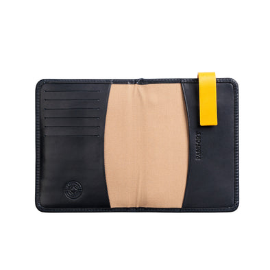 Willy Navy Wallets | La Portegna UK | Handmade Leather Goods | Vegetable Tanned Leather