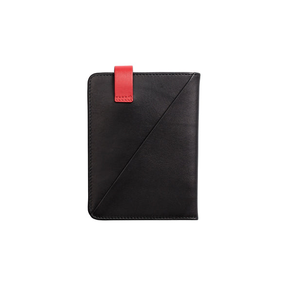 Willy Black Wallets | La Portegna UK | Handmade Leather Goods | Vegetable Tanned Leather