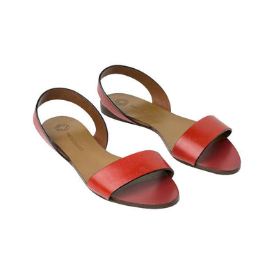 Leticia Red & Tan
