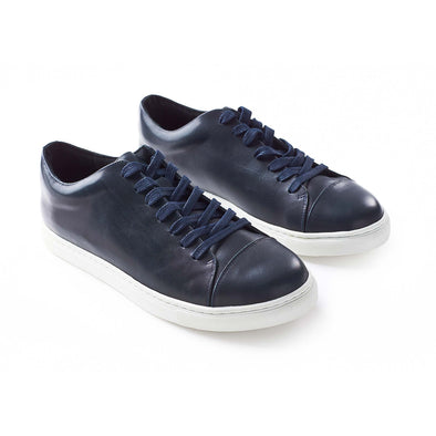 Perfect casual sneakers Alex Navy by La Portegna
