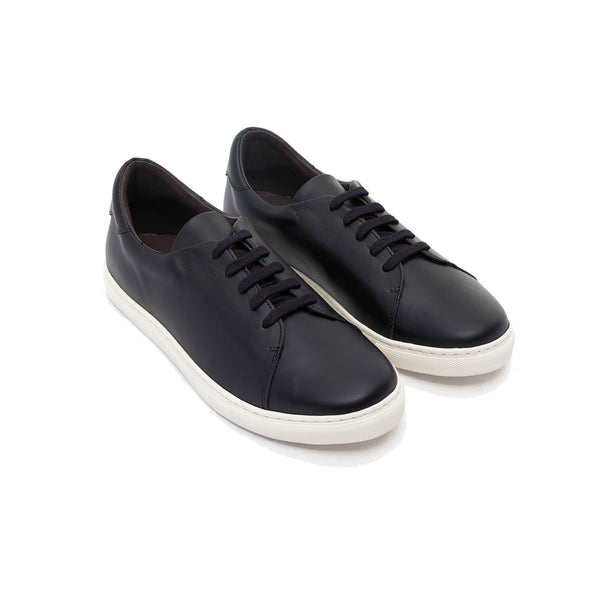 Alexia Black everyday sneakers shoes by La Portegna London