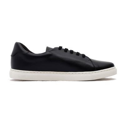Alexia Black perfect casual sneakers by La Portegna London