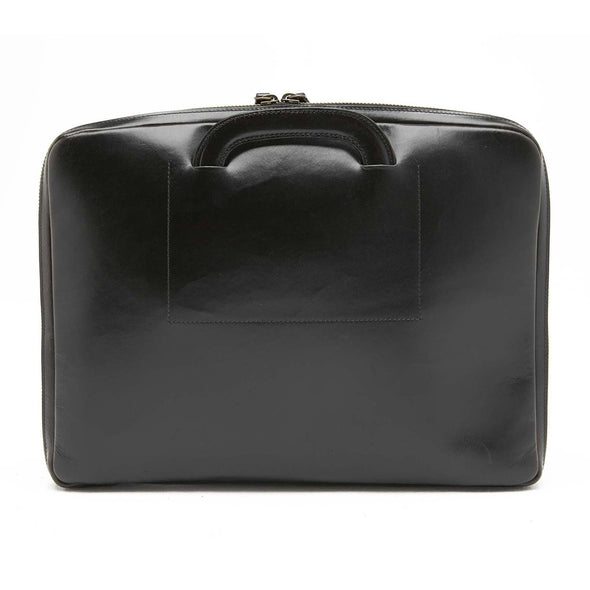 "Belgrano Black 15"" Briefcases 