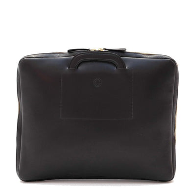 Handmade office laptop bag by La Portegna