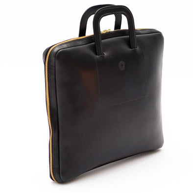 Office bag for laptop handmage in Spain by La Portegna London