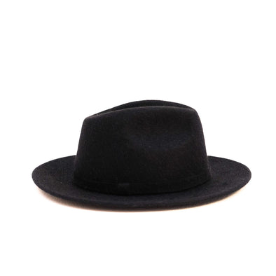 Stetson Black Hats | La Portegna UK | Handmade Leather Goods | Vegetable Tanned Leather