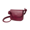 Lucia Mini Cherry | Shoulder Bags UK | La Portegna UK | Handmade Leather Goods | Vegetable Tanned Leather