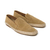 Dani Suede Tan | Espadrilles UK | La Portegna UK | Handmade Leather Goods | Vegetable Tanned Leather