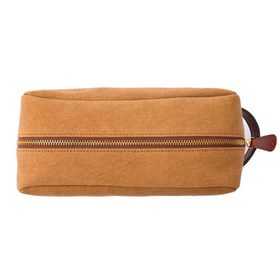 Travel Bags For Men | Dopp Kit Gold - Top