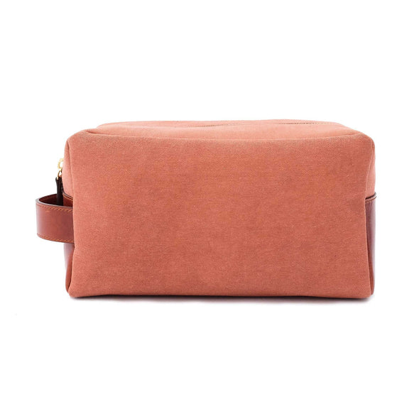 Travel Bags For Men | Dopp Kit Terracota - Front