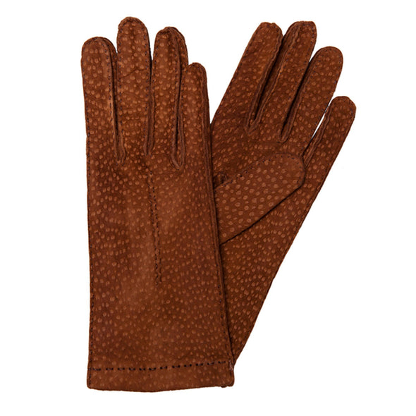Exotic Sol Gloves | La Portegna UK | Handmade Leather Goods | Vegetable Tanned Leather