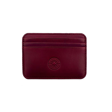 Humphrey Burgundy | Wallets UK | La Portegna UK | Handmade Leather Goods | Vegetable Tanned Leather