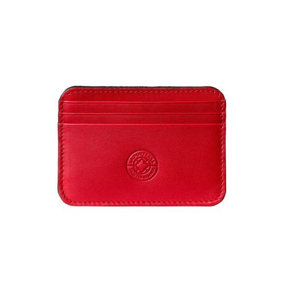 Humphrey Red Wallets | La Portegna UK | Handmade Leather Goods | Vegetable Tanned Leather