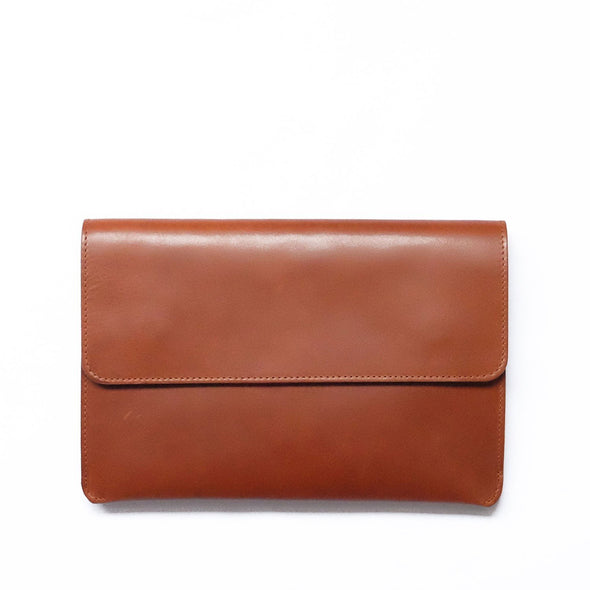 Leather Ipad Case | Jimena Sol - Front