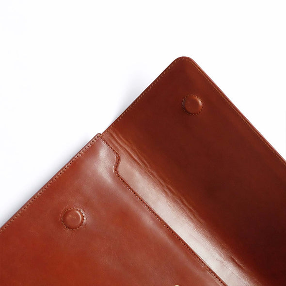 Leather Ipad Case | Jimena Sol - Open