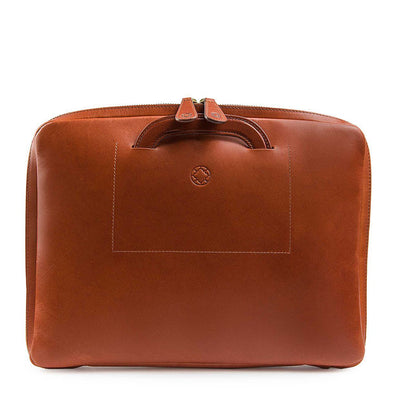 "Office laptop bag Belgrano Sol 13"" handmade in Spain"
