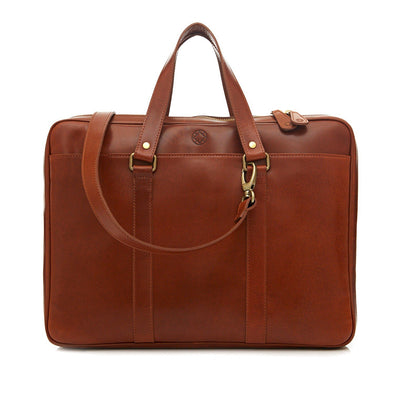Carter Sol | Briefcases UK | La Portegna UK | Handmade Leather Goods | Vegetable Tanned Leather