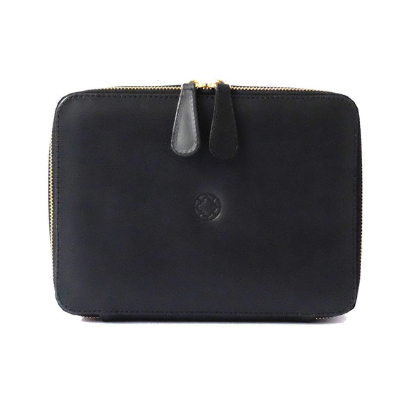 Travel Bags For Men | Washcase Black - Top