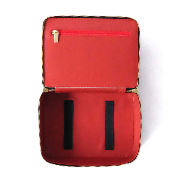 Travel Bags For Men | Washcase Black - Top Open
