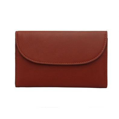 Lucia Mini Purse Tabaco | Purses UK | La Portegna UK | Handmade Leather Goods | Vegetable Tanned Leather