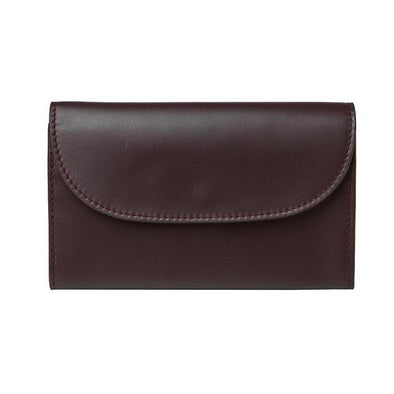 Lucia Mini Purse Burgundy & Petrol