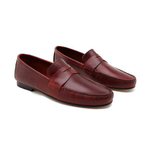 Marco Bordeaux | Moccasins UK | La Portegna UK | Handmade Leather Goods | Vegetable Tanned Leather