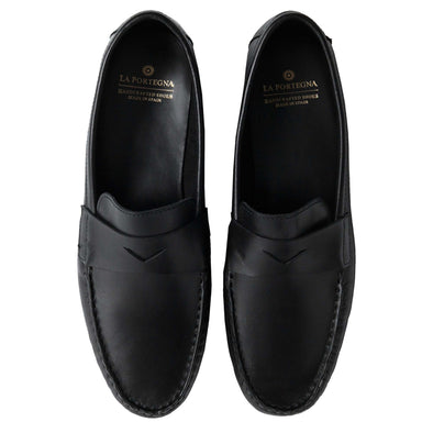 Marco Black | Moccasins UK | La Portegna UK | Handmade Leather Goods | Vegetable Tanned Leather