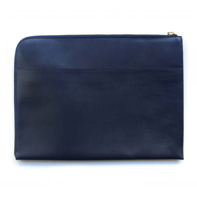 Leather Portfolio | Mendocino Navy - Back
