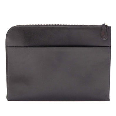 Leather Portfolio | Mendocino Black - Back