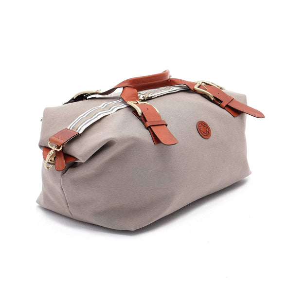 Mick Cement Travel Bags | La Portegna UK | Handmade Leather Goods | Vegetable Tanned Leather