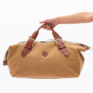 Leather Duffle Bag | Mick Mustard 4