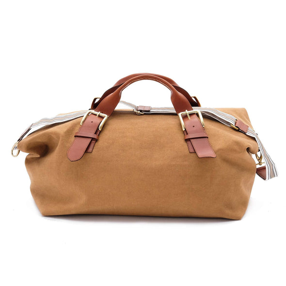 Leather Duffle Bag | Mick Mustard 3