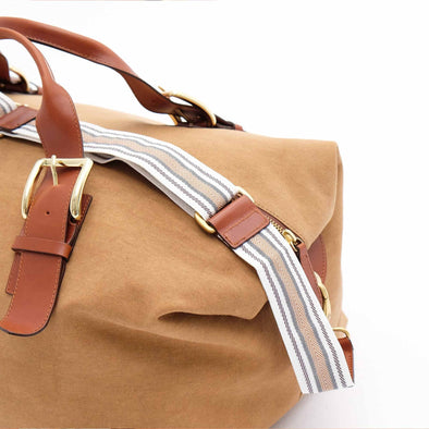 Mick Mustard | Travel Bags UK | La Portegna UK | Handmade Leather Goods | Vegetable Tanned Leather