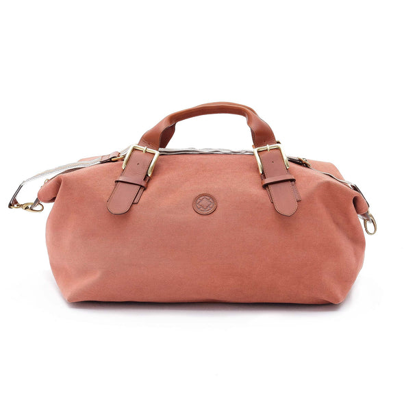 Mick Terracota Travel Bags | La Portegna UK | Handmade Leather Goods | Vegetable Tanned Leather