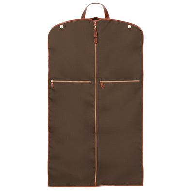 Borja Suit Holder Brown | La Portegna UK | Handmade Leather Goods | Vegetable Tanned Leather