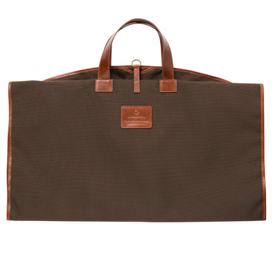 Borja Suit Holder Brown | UK | La Portegna UK | Handmade Leather Goods | Vegetable Tanned Leather