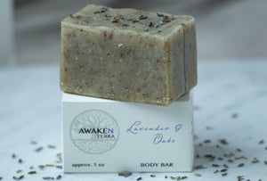 Lavender & Oats Body Bar