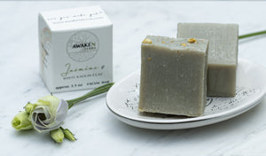 Jasmine & White Kaolin Clay Facial Bar