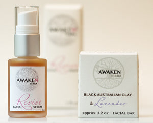 Revive & Black Australian Clay/Lavender Facial Combo Set