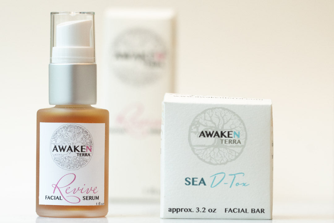 Revive & Sea D-tox Facial Combo Set