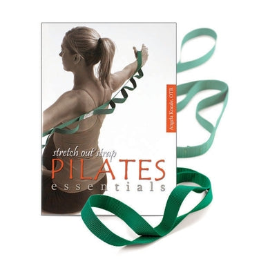 OPTP Stretch Out Strap Pilates Essentials Package Includes Strap & Pilates Essential Softcover Book