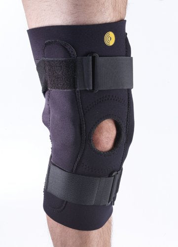 "Corflex 16"" Posterior Adjustable Knee Sleeve w/ Hinge, 3/16"""