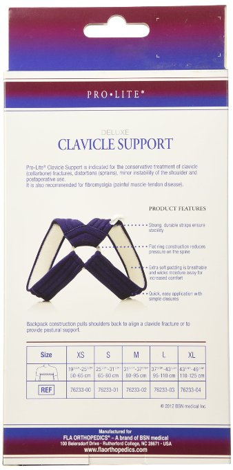 FLA Orthopedics ProLite Deluxe Clavicle Support