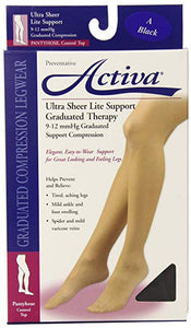 Activa® Women's Ultrasheer Pantyhose Control Top Stocking