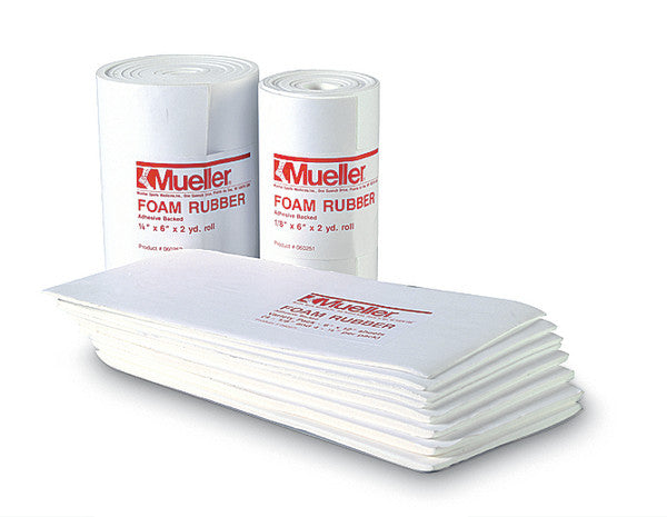 Mueller Foam Rubber - Adhesive backed, Open cell