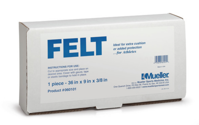 Mueller Orthopedic Felt - With or Without Adhesive Back