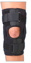 "Med Spec Gripper 12"" Hinged 3/16"" Neoprene Knee Brace"
