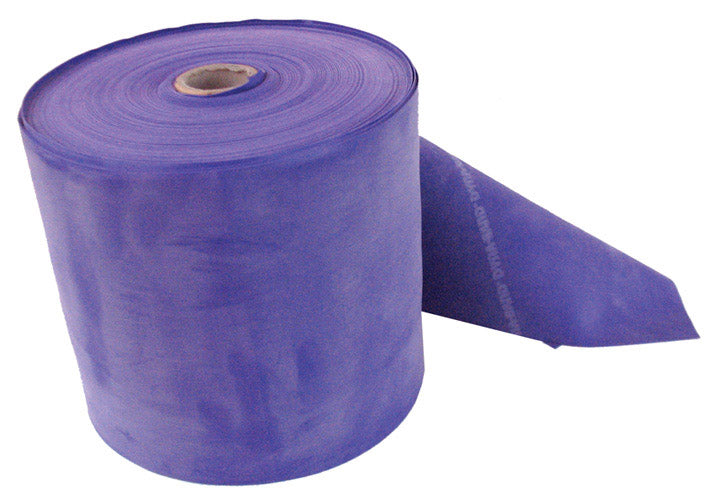Dyna-Band Resistance Training Exercise Bands,Heavy Resistance Bulk Roll - Purple