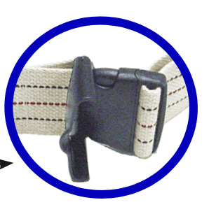 Kinsman Enterprises Safety Quick Release Gait Belts